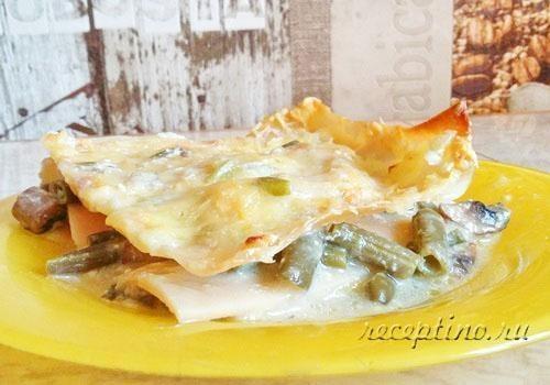 Приготовление листов лазаньи рецепт