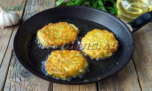 Кабачковые оладьи рецепт пошагово с картофелем
