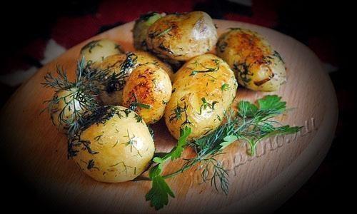 Что приготовить по быстрому из картофеля
