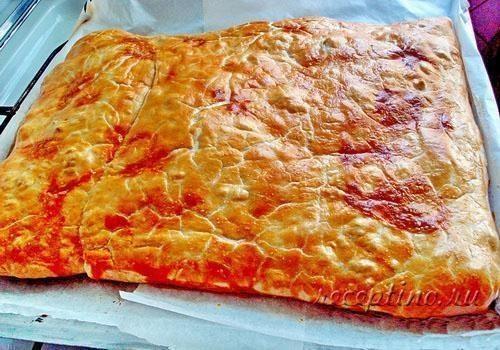 Пирог с мясом классический рецепт пошаговый