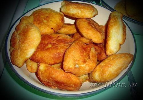 Рецепты постных пирожков дрожжевое