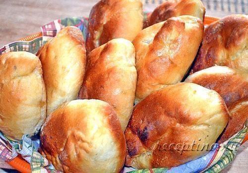 тесто на жареные пирожки на кефире фото