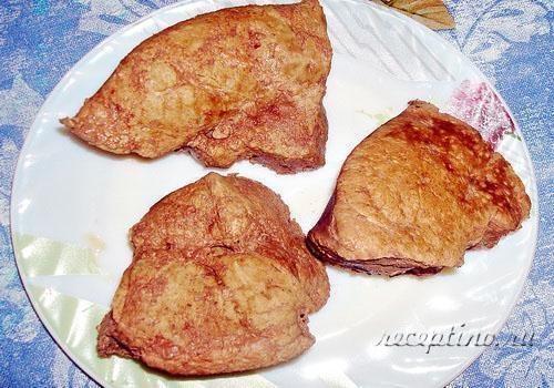 Рецепт пирожки из печени