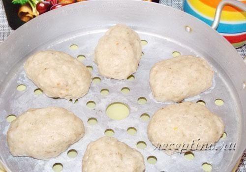 Паровые котлеты из индейки - пошаговый рецепт с фото