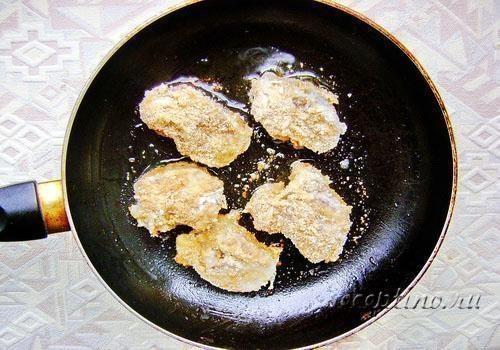 Медальоны из печени рецепт пошагово