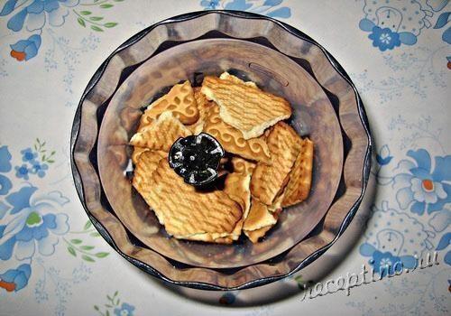 Печенье с вареньем и крошкой фото