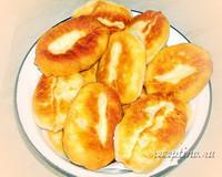 Пирожки с говяжьей печенью и картошкой - рецепт с фото